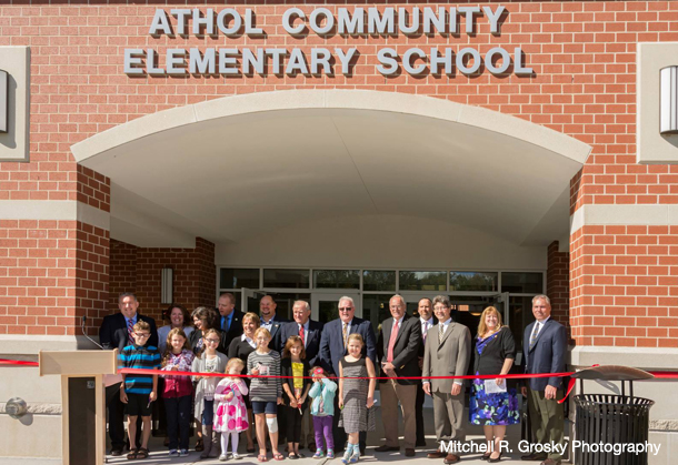 Athol Elementary School OPM Dedication Ceremony